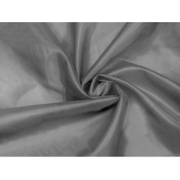 Podšívka polyesterová, šedá,  metráž, látka