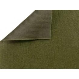 Velkro, velcro textilie khaki, smyčky, látka, metráž 220g/m2