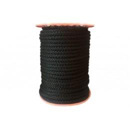 Polypropylenová šňůra 10mm, černá