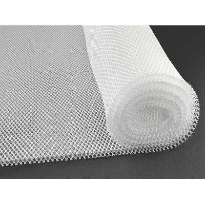 3D distanční síťovina zdravotnická, 10mm bílá, 220 mm šířka, metráž, látky