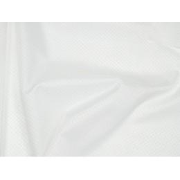 Protiskluzová polyesterová textilie s PU zátěrem, 420D, 0,34 mm bílá, látka, metráž